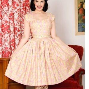 Bernie Dexter Eiffel Tower Pink Lemonade Dress